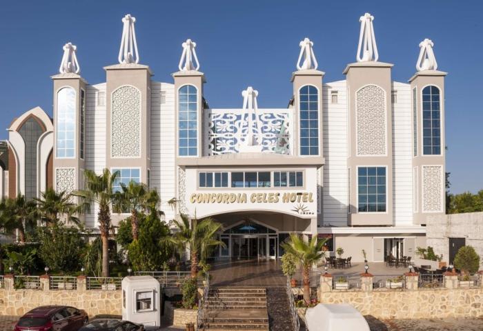 Фешенебельное здание отеля Concordia Hotel в Аланьи (Турция)